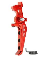 MAXX MAXX CNC Aluminum Advanced Speed Trigger (Style E) (Red)