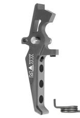 MAXX CNC Aluminum Advanced Speed Trigger (Style E) (Titanium)