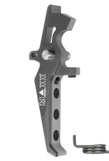 MAXX MAXX CNC Aluminum Advanced Speed Trigger (Style E) (Titanium)