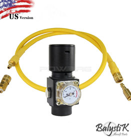 Balystik HPR800C V3 Regulator with Gold Line - US (yellow)