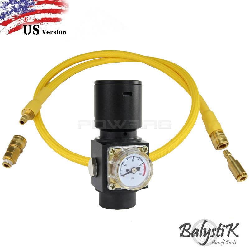 Balystik HPR800C V3 Regulator with Gold Line - US (yellow)