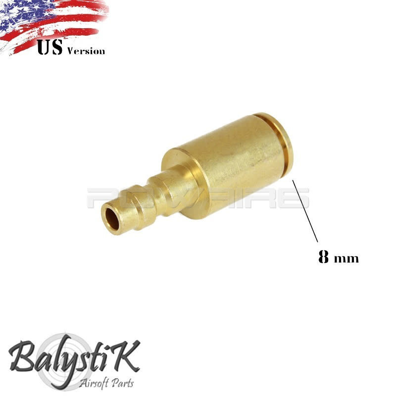 Balystik Balystik US 8mm male nipple Line