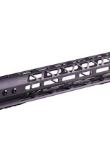 Balystik Copy of Skeleton M-LOK CNC rail for AEG / GBB / PTW 12 inch red