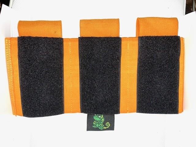 Camaleon Speedsoft M4 Triple Pouch Orange