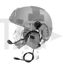 OPSMEN M32H- Mod3 -Grey Tactical Gehörschutz Helm Version
