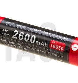 Klarus Klarus 18650 Battery 3.7V 2600mAh Micro-USB