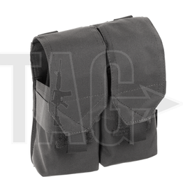 Invader Gear Invader Gear 5.56 2x Double Mag Pouch  Wolf Grey