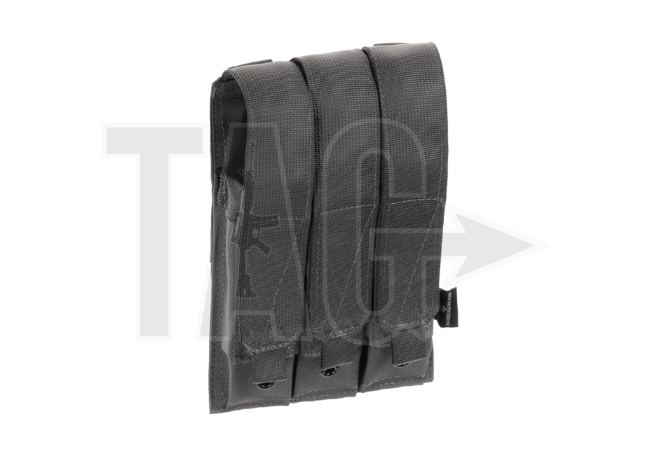 Invader Gear Invader Gear MP5 Triple Mag Pouch  Wolf Grey