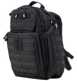 5.11 Tactical RUSH24 Rugzak (37L) Tactical Airsoft Gear Zwart