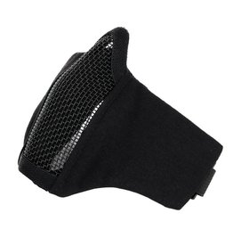 101 inc Black AIRSOFT FACE MASK NYLON/MESH