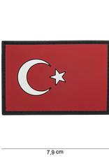 101 inc 3D PVC Turkije vlag