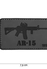 101 inc 3D PVC AR-15 patch