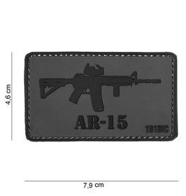 101 inc 3D PVC AR-15 patch