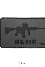 101 inc 3D PVC HK416 patch