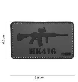 101 inc 3D PVC HK416 patch