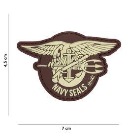 101 inc Patch 3D  PVC Navy seals brown