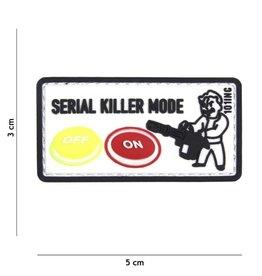 101 inc Patch 3D PVC Serial killer wit