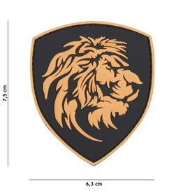 101 inc Patch 3D PVC Dutch Lion