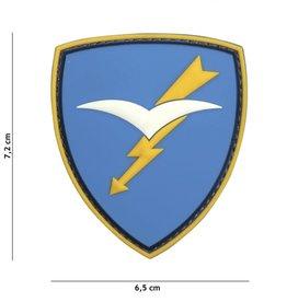 101 inc Patch 3D PVC Paratroopers Brigade Folgore blauw