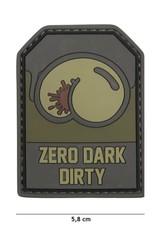101 inc Patch 3D PVC Zero Dark Dirty groen