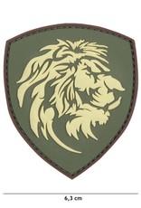101 inc Patch 3D PVC Nederlandse leeuw groen
