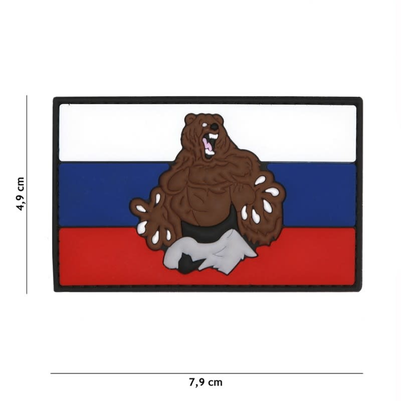 101 inc Patch 3D PVC Rusland beer