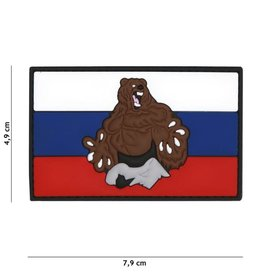 101 inc Patch 3D PVC Rusland beer