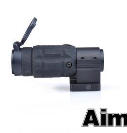 aim-O Aim-o AP Style 3X Magnifier with QD Twist Mount