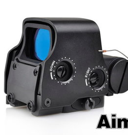 aim-O XPS 3-2 red/green dot with QD mount.