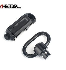 Metal Metal tactical rail sling attachment quick detach mount