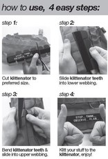 TAG-GEAR klittenator velcrostrip voor molle