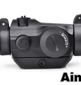 aim-O AIM-O T2 Red Dot With QD Mount & Low Mount Black