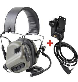 OPSMEN Earmor Headset m32 Met ptt