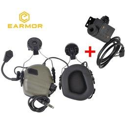 OPSMEN Earmor Headset m32H Met ptt