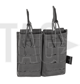 Invader Gear Invader Gear 5.56 Double Direct Action Gen II Mag Pouch  Wolf Grey