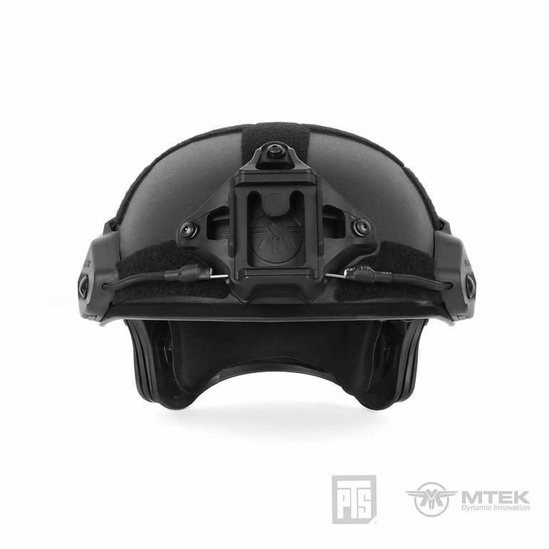 PTS PTS MTEK - FLUX Helmet Black