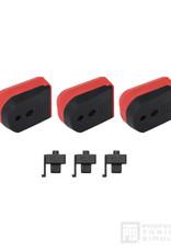 PTS PTS Enhanced Pistol Shockplate - Hi-Capa (3pcs / pack) RED