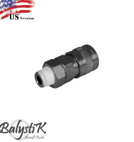 Balystik High Flow Coupler 1/8 male thread for regulator us