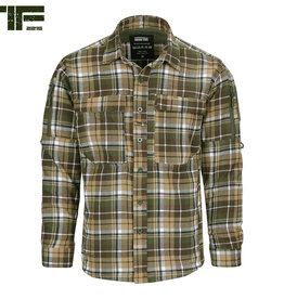 TF2215 TF-2215 flanel Contractor shirt
