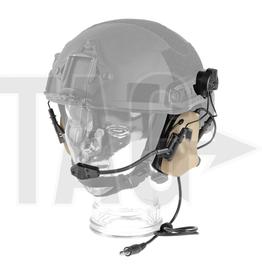 OPSMEN Earmor M32H- Mod3 -TAN Tactical Hearing Protection Helmet Version