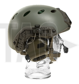 OPSMEN Earmor M32H- Mod1 -Folage Green Tactical Hearing Protection Helmet Version