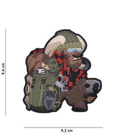TF2215 Patch 3D PVC Bushcraft Ox No.2