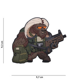 TF2215 Patch 3D PVC Contractor Ox Nr. 1