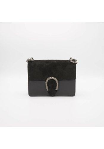 Central Suède flap -  Crossbody bag