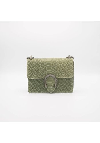 Central snakeprint - Crossbody bag