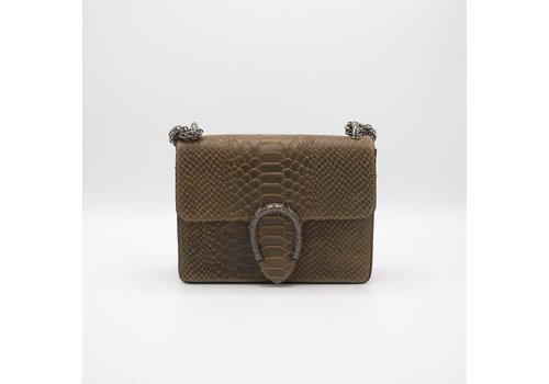 Central snakeprint - Crossbody bag