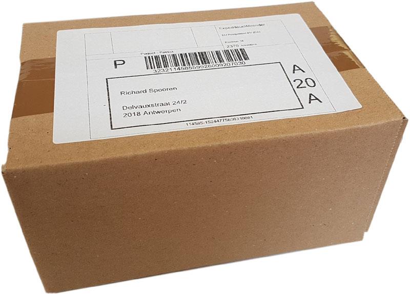 anoniem pakketje
