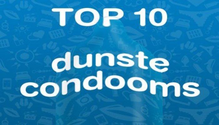 Dunste condooms top10