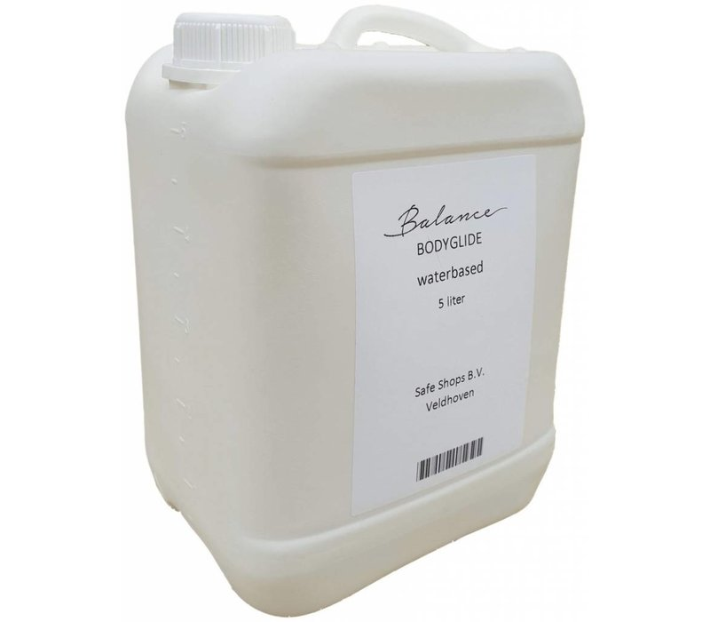Body Glide Aqua - grootverpakking glijmiddel op waterbasis - 5ltr