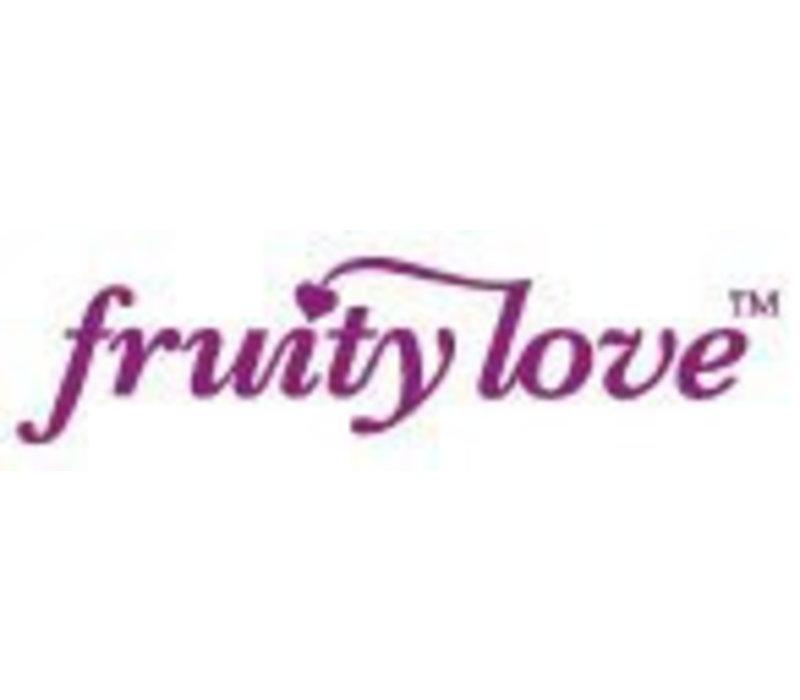 FruityLove glijmiddel Pink Grapefruit met Mango op waterbasis